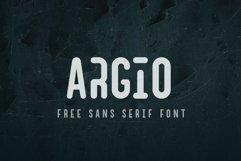 Argio Regular - Sans Serif with optional Stencils Product Image 1