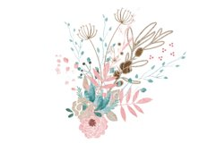 The Anya Collection - watercolor floral png graphics Product Image 6