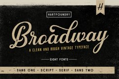 Broadway | Font Pack Product Image 1