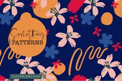 Something - Abstract Floral Patterns Product Image 1