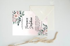 Floral Wedding Invitation Template Product Image 3