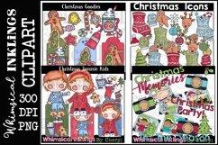 Sweet Christmas -Huge Christmas Clipart Bundle Product Image 4