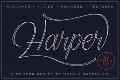 Harper Script Product Image 1
