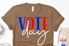 Vote day - US Election Quote SVG Product Image 3