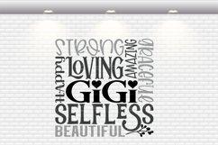 Gigi Subway Art SVG, PNG, DXF, EPS Product Image 2