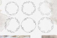 Line art botanical illustrations Product Image 4