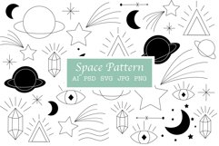 Space Pattern | Space elements Product Image 1