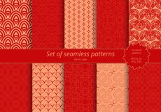 Set of seamless ornaments Product Image 2