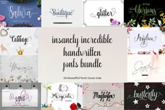 20 Incredible Handwritten Fonts Product Image 2