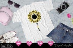 Sunflower leopard print Svg Product Image 4