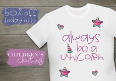 Unicorn Wishes - Quirky Handwritten Font Product Image 5