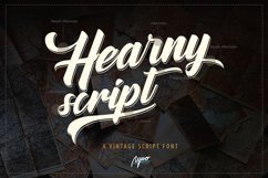Hearny Script Product Image 1