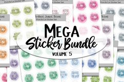 Mega Sticker Bundle #5 - Motivational Planner Stickers Product Image 1