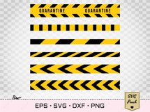 Caution do not cross tape SVG Product Image 2