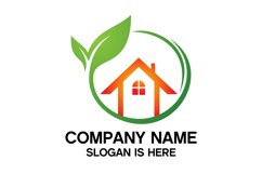 Eco House Logo Design Vector Product Image 3