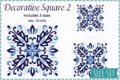 Decorative Blocks No2 Embroidery Design Product Image 1