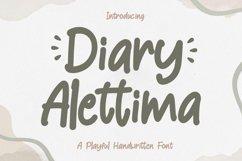 Playful Font - Diary Alettima Product Image 1