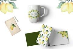Watercolor Lemon Product Image 4