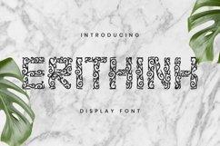 Web Font Erithink Font Product Image 1
