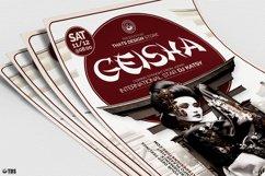 Geisha Night Flyer Template V5 Product Image 5