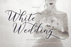 Web Font White Wedding Product Image 1