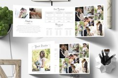 Photography Square Trifold Brochure Product Image 4