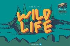 wild life   unique font Product Image 1