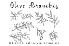 Olive branches set Product Image 3