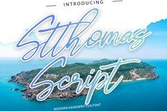 Stthomas Script Font Product Image 1