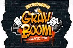 GRAVBOOM GRAFFITI FONT Product Image 1