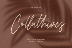 Collathives Signature Brush Font Product Image 1