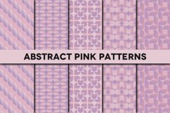 Abstract Pink Patterns Product Image 1