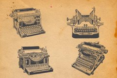 22-hand drawn typewriters Product Image 3