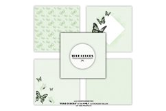 Mint Green Dreams Baby Paper Pack Fashion Illustration Product Image 3