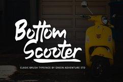 Bottom Scooter - Clasic Brush Typeface Product Image 1