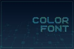 Circuitra - Color Font Product Image 3