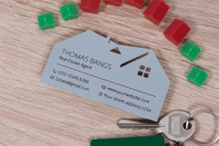 Real estate business card template cutting file Product Image 1