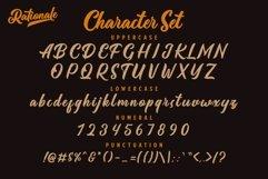 Rationale Vintage Script Font Product Image 6