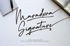 Maradona Signature Product Image 1