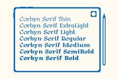 Corbyn Serif Product Image 5