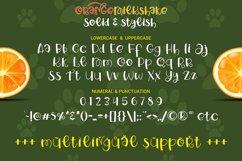 Orange Milkshake - Playful Display Font Product Image 6