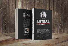 LETHAL - 3 sans font family Product Image 4