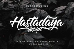 Hastadaya Script Product Image 1