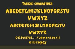 Tabloid - Fun Display Font Product Image 3