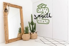 Web Font Thirsty Cactus - A Silly Cacti Font Product Image 4
