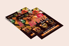 Restaurant Flyer Template Product Image 4