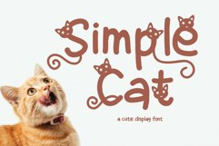Simple Cat Product Image 1