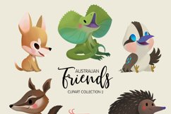 Australian Friends Clipart Collection 02 Product Image 1