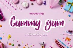 Gummy gum - cartoon font Product Image 1