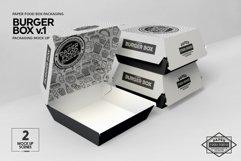 Burger Box Packaging Mock Up v1 Product Image 4